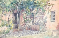 Impressionist Landscape Drawings and Watercolors