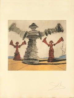 "The Spinning Man, from ""Historia de Don Quichotte de la Mancha"""