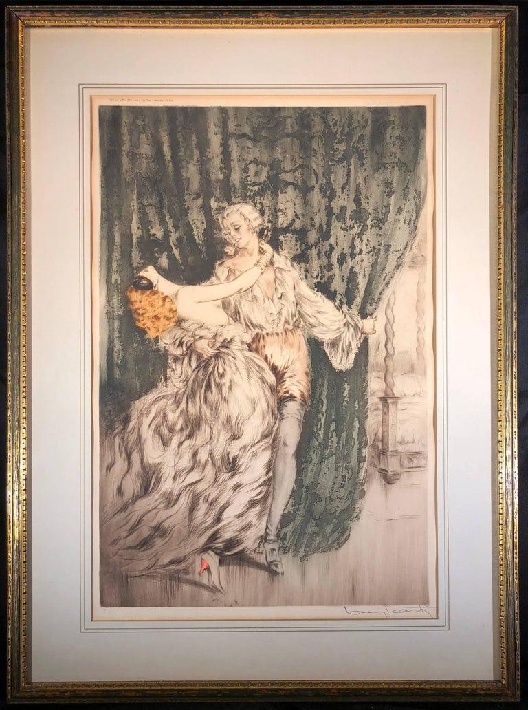 Casanova - Print by Louis Icart