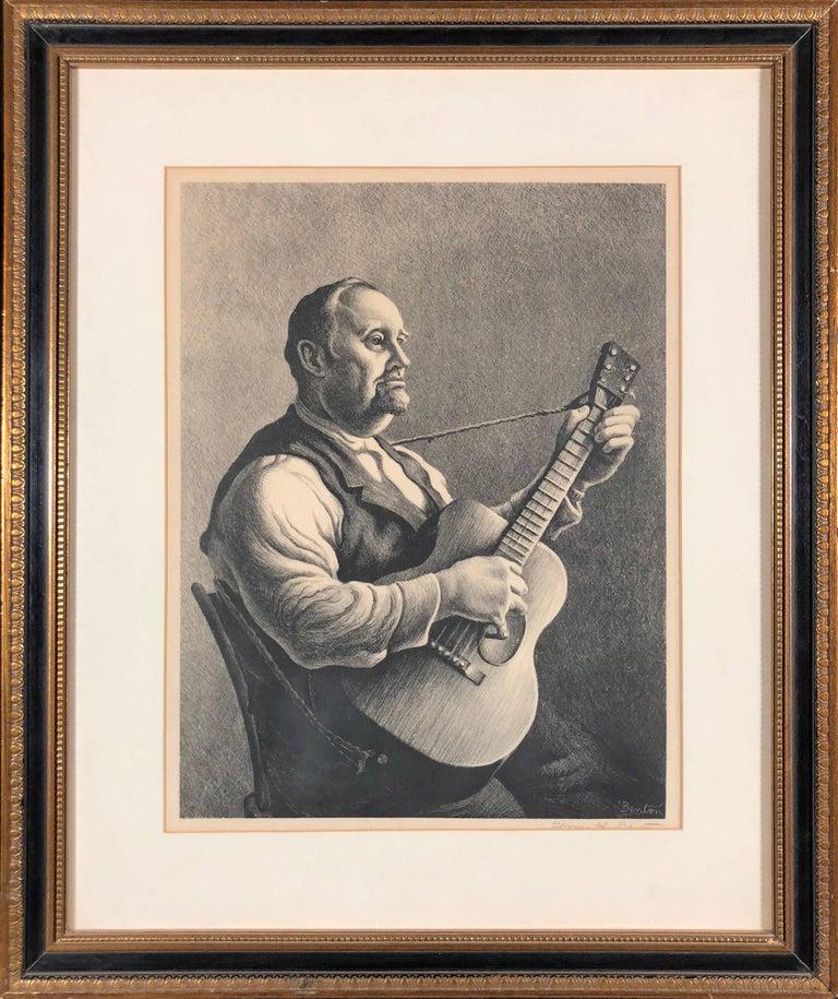 The Hymn Singer - Print by Thomas Hart Benton