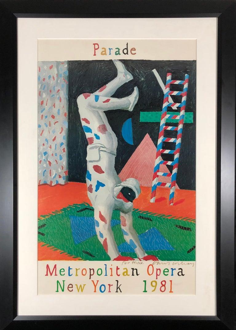 Parade, Metropolitan Opera - Print by David Hockney