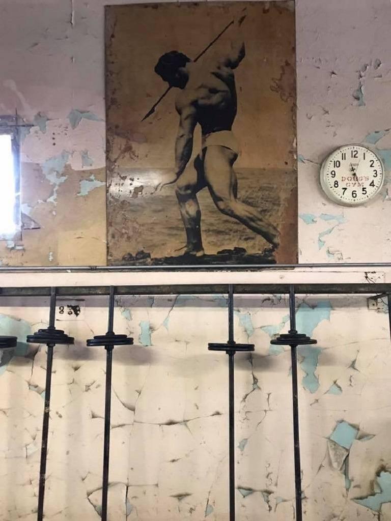 Michael Alago Figurative Photograph - Doug's Gym