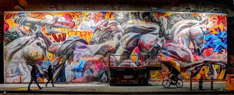 Kevin Frest Landscape Photograph - Bowery Wall