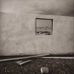 Wall, Window, Pond