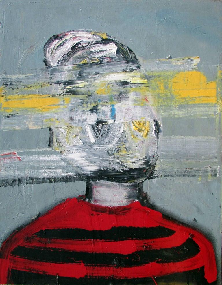 Hola Abuela - Painting by Justin Brennan
