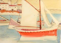 Red Sailboat, Côte d'Azur