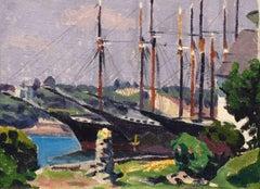 Schooners at Dock