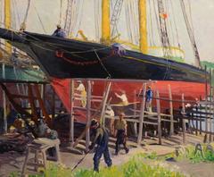 Dry Dock Schooner