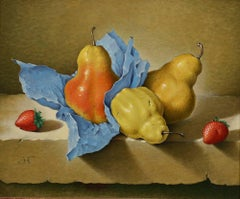 Still Life with Pears and Strawberries