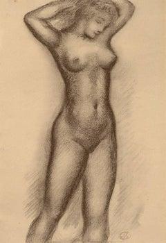 Nu de femme, vue de face (Standing Frontal Nude)
