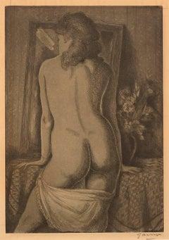In Her Boudoir