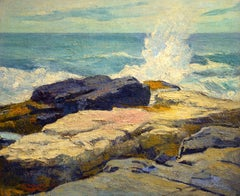 Morning Seas, Monhegan