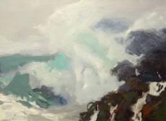 Sea Spray off Whitehead