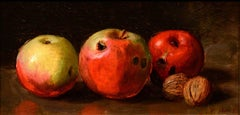 Still Life of Apples and Walnuts