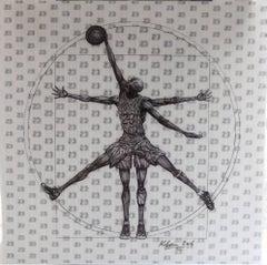 MJ Vitruvian Athlete