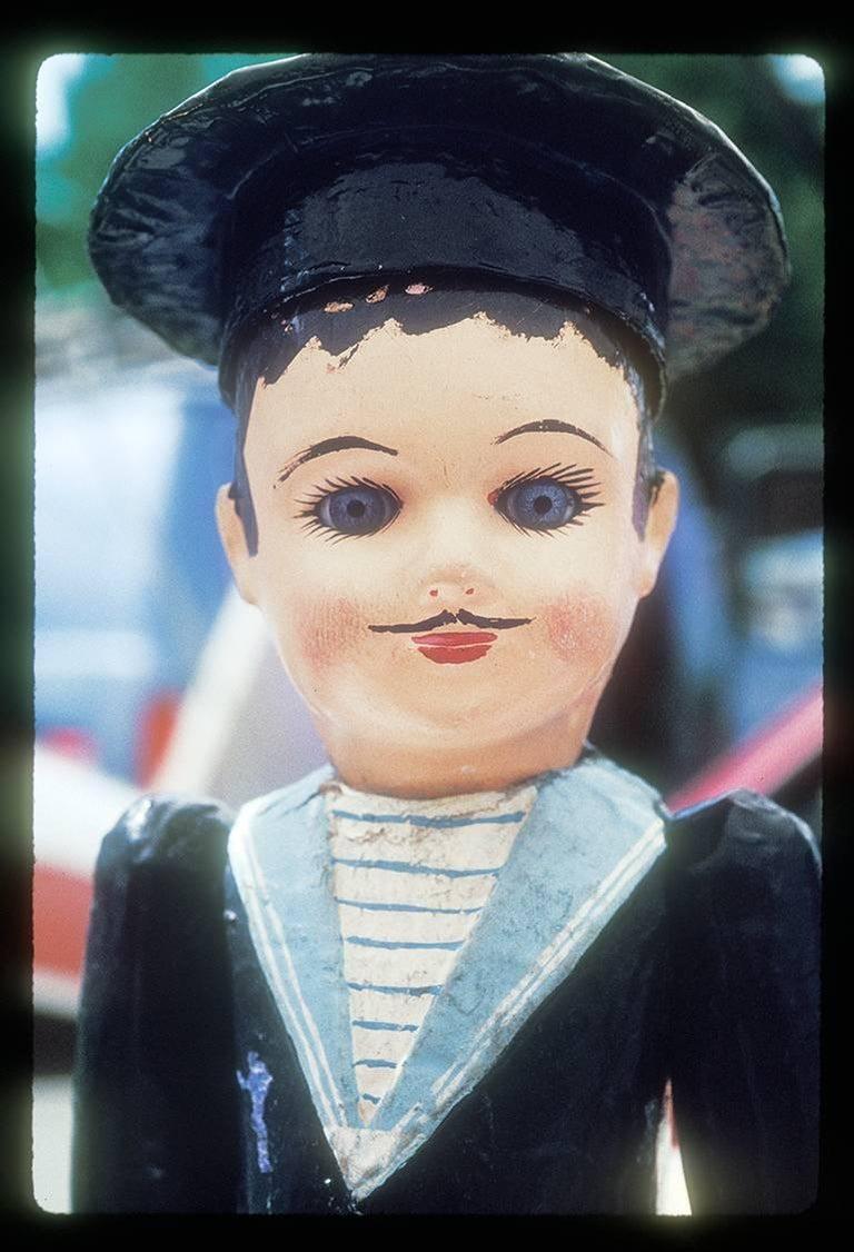 """Lucille Khornak Color Photograph - Doll No. 1 """"Pierre"""" (Edition 1/25)"""