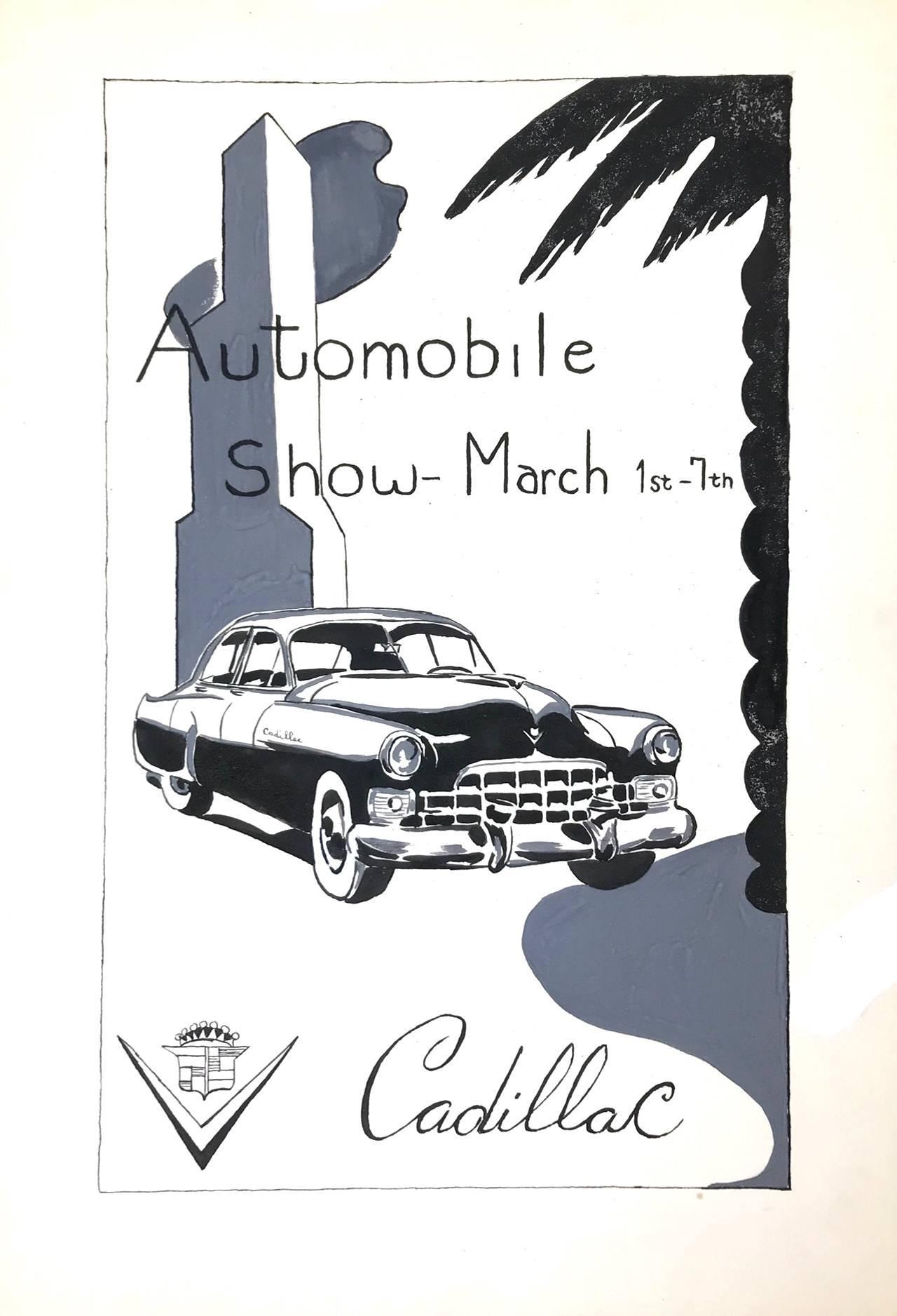 Untitled (Cadillac Automobile Show)