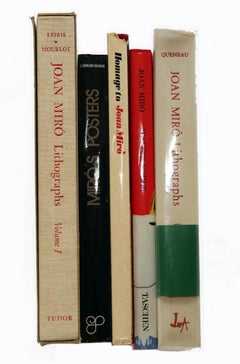 Joan Miró (Collection of 5 Books from 1972-1988)