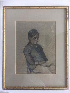 Portrait Of A Girl Reading