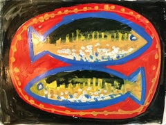Untitled: 2 Fishes