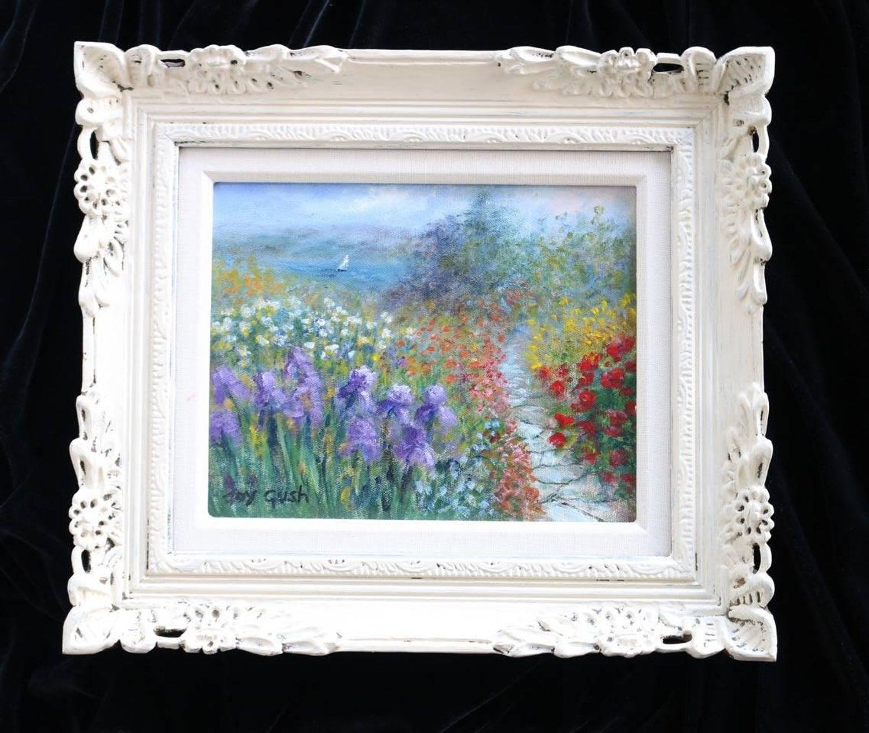 Joy Gush - Lakeside Walk, Painting For Sale at 1stdibs