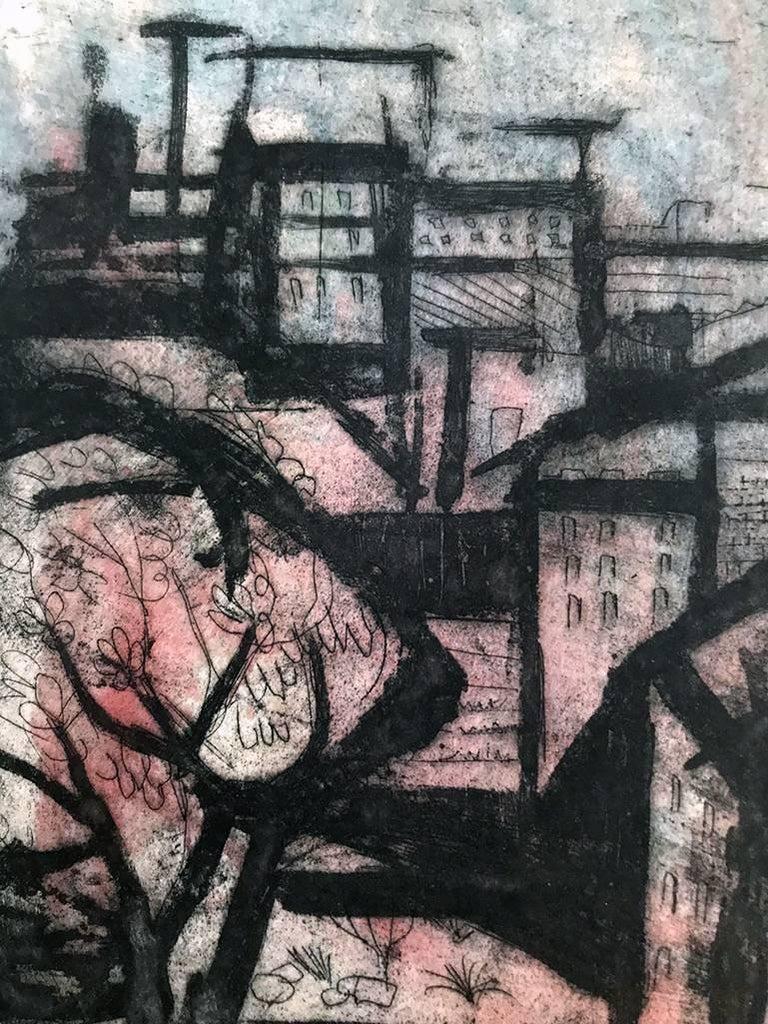 View From Bridge - Print by Jack Bilander
