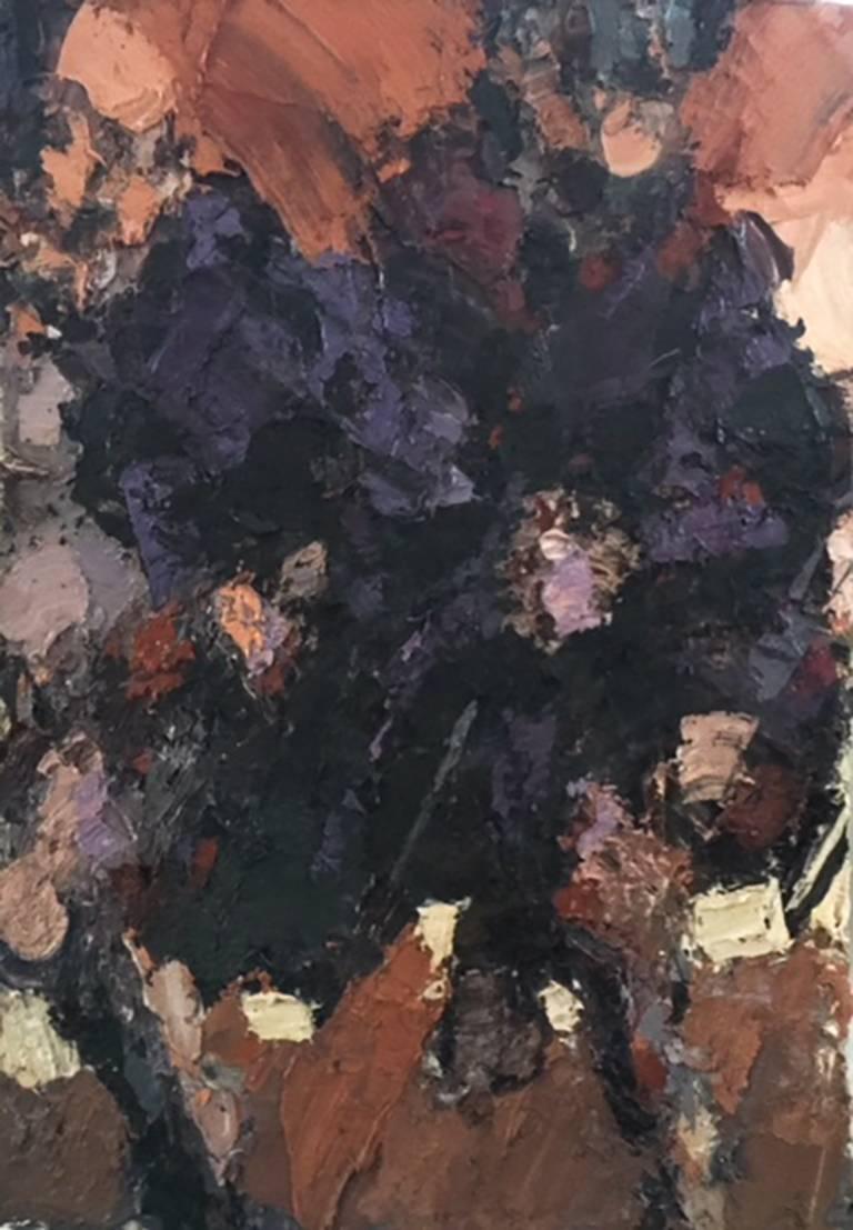 David Stern Abstract Painting - Purple Robe