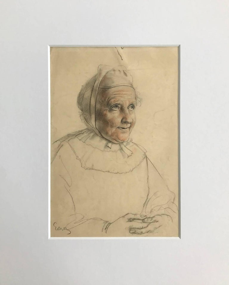 Untitled (Drawing of a Woman)