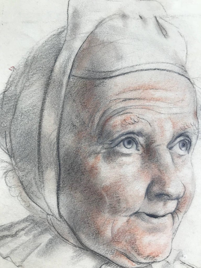 Untitled (Drawing of a Woman) - Art by John Gilroy