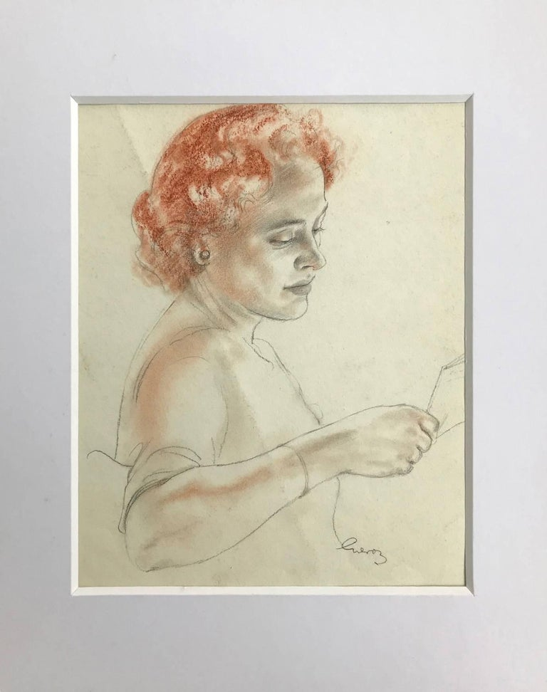 Untitled (Redheaded Lady)