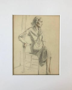 Untitled (Seated Woman In Chair)