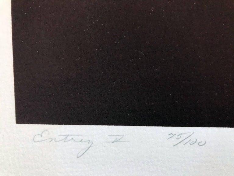 Entry V (Edition 75/100) - Print by Shirley Penman