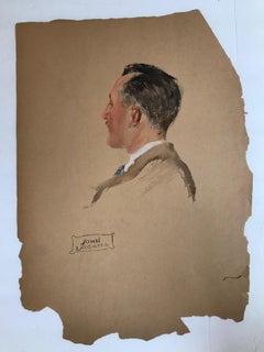 Untitled: Head of a Gentleman