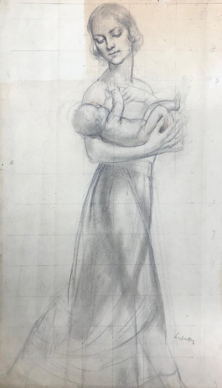 John Gilroy Portrait - Untitled (Mother Holding Baby)