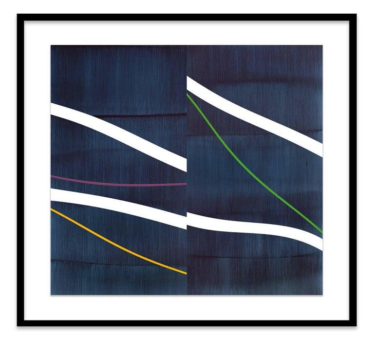 Noche Transfigurada P-1 - Abstract Geometric Print by Ricardo Mazal