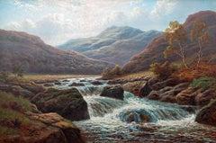 The River Llugwy, North Wales