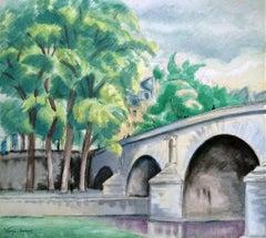 Le Pont Marie, Paris