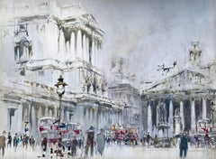 The Bank of England & The Royal Exchange London