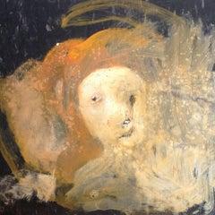 Untitled, 2016, Oil on linoleum