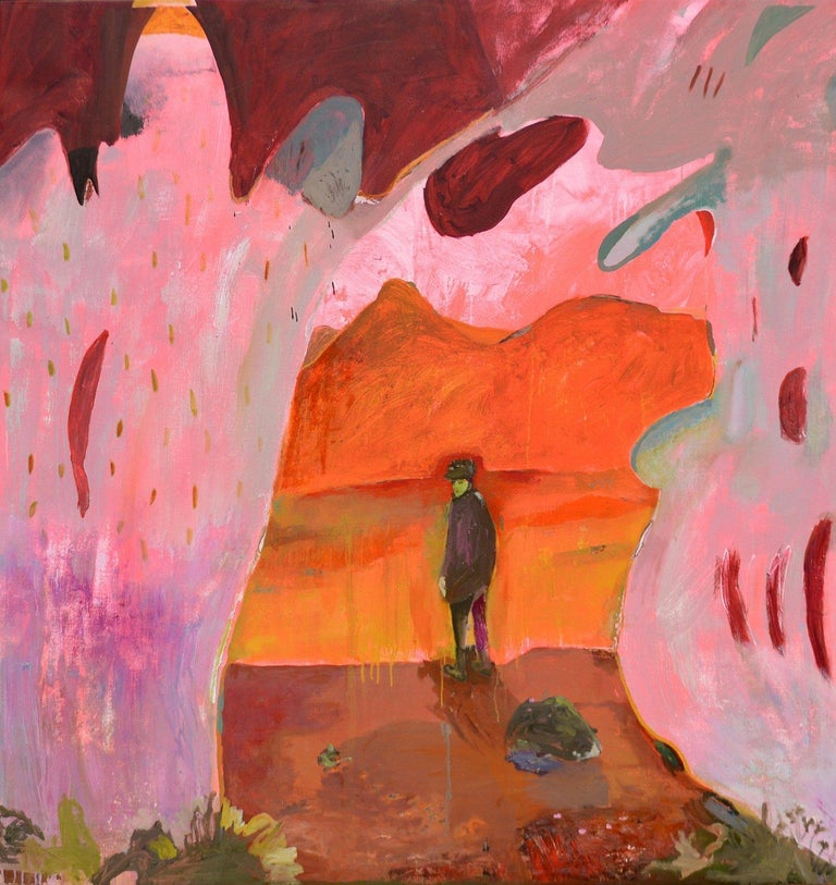 John Paul Kesling Abstract Painting - Joshua Tree Dreaming