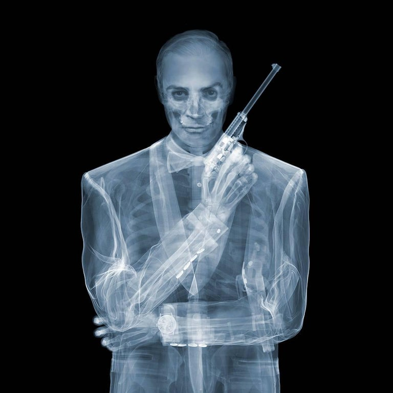 Nick veasey james bond photograph for sale at 1stdibs for X ray painting