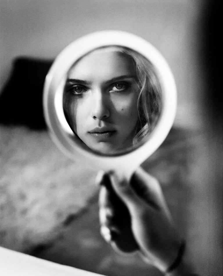 Scarlett Johansson reflections, New York