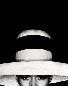 Grace Jones in hat, Los Angeles, 21st Century, Contemporary, Celebrity