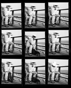 David Hockney contact sheet, 21st Century, Contemporary, Celebrity, Photography