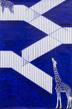 Das Treppenhaus. Eine tragödie in drei teilen - Giraffes on the stairs