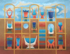 """Apothocaries""  Mid Century Modern Texas Artist"