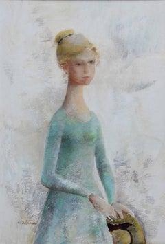 """Portrait of a Young Lady""  Mid Century Margaret Putnam"