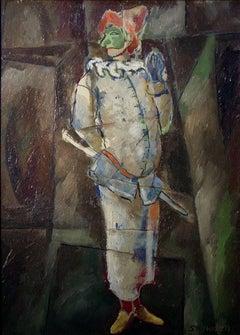 """Harliquen""  Mid Century Modern Houston Artist"