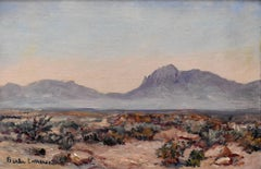 """Desert Near El Paso""   Great West Texas and Franklin Mountains"