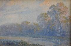 """MISTY BLUE""  TEXAS BLUEBONNETS ? landscape"